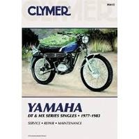 Clymer CM412 Yamaha DT & MX Series Singles 1977-1983/DT100/DT125/DT175/DT250 etc