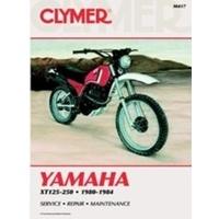 Clymer CM417 Yamaha XT125-250 1980-1984 (M417)