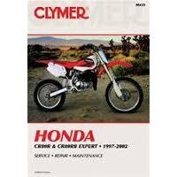 Clymer CM435 Honda CR80R and CR80RB Expert 1996-2002 (M435)