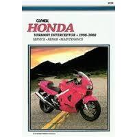 Clymer CM438 Honda VFR800FI Interceptor 1998-2000 (M438)
