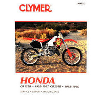 CLYMER HONDA CR125R 1992-1997 AND CR250R 1992-1996 (M4572)