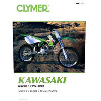 Clymer CM4732 Kawasaki KX250 1992-2000 (M4732) Will be superceded by M4732