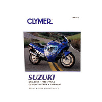 Clymer CM4782 Suzuki GS1100 Fours (Chain Drives) 1980-1981