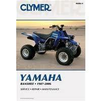 Clymer CM4866 Yamaha Banshee 1987-2006 (M4866)