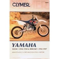 Clymer CM498 Yamaha YZ250 1994-1998 and WR250Z 1994-1997 (M498)