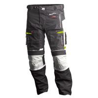 MotoDry Advent-Tour Trekker Pant Black/Grey/Fluro Yellow