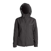 MotoDry Kevl-Ar Hoodie Ladies Jacket Black