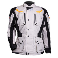 MotoDry Rallye Jacket Black/Grey/Orange
