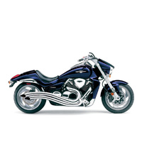Cobra USA COB-3221 Speedster Swept Exhaust Chrome for Suzuki M109R'06up