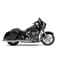 "Cobra USA COB-6268 4"" 909 Uppercut Slip-On Mufflers Chrome w/Stainless Steel Tips for Touring 95-16/Trike 17-Up"