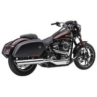 """Cobra USA COB-6520 4"""" 909 Back Slash Slip-On Muffler Chrome for Sport Glide 18-Up"""