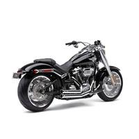 Cobra USA COB-6715 Speedster 909 Exhaust Chrome for Breakout/Fat Boy 18-Up/FXDR 19-Up