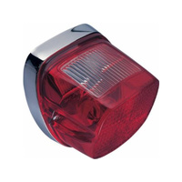 Chris Products CP-8048 Taillight w/Red Lens Fits Big Twin 73-198