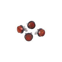 Chris Products CP-CH4R Red Reflector (4 Pack)