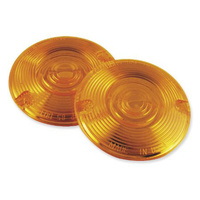 Chris Products CP-DHD4A Amber Turn Signal Lens FLST'86up (Each)