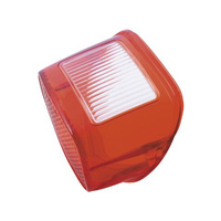 Chris Products CP-LHD-1 Red Tail Light Lens Big Twin'73-98 (Each)
