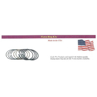 "Cycle Pro CPL-28002C Piston Rings for BT'48-80 +.010"" 74"" 1200cc (2 Cyl's) Cast USA Made"