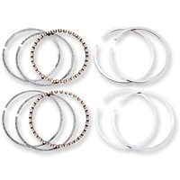 """Cycle Pro CPL-28061M Piston Rings (Chrome) +.005"""" for Twin Cam 95ci 1550cc 99-Up/103ci 1690cc 07-Up"""