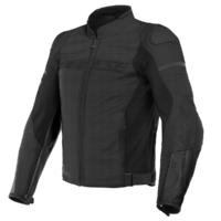 Dainese Agile Perforated Leather Jacket Matte Black/Matte Black/Matte Black