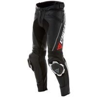 Dainese Delta Pro Pelle Pants Nero/Nero
