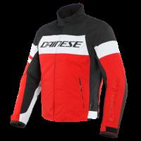 Dainese Saetta D-Dry Jacket White/Lava Red/Black