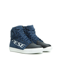 Dainese York D-WP Shoes Black Iris/White