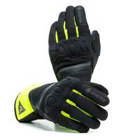 Dainese Nembo Gore-Tex Gloves w/Gore Grip Technology Black/Fluro Yellow