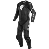 Dainese Laguna Seca 4 2 Piece Suit Matte Black/Matte Black/White