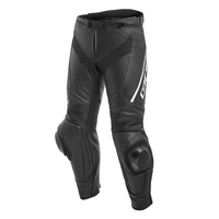 Dainese Delta 3 Perforated Leather Pants Black/Black/White