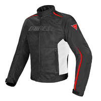 Dainese Hydra Flux D-Dry Jacket Black/White/Red