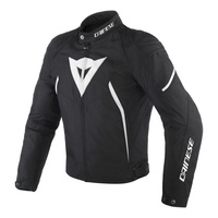Dainese Avro D2 Tex Jacket Black/Black/White