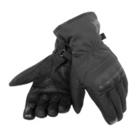 Dainese Alley Unisex D-Dry Gloves Black/Black