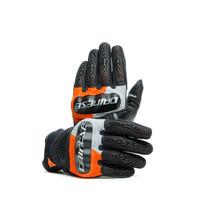 Dainese D-Explorer 2 Gloves Glacier Gray/Orange/Black