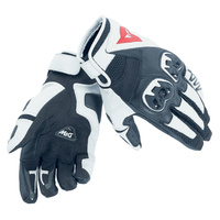 Dainese Mig C2 Gloves Black/White/Black
