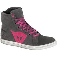 Dainese Street Biker D-WP Ladies Shoes Anthracite/Fushsia