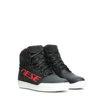 Dainese York D-WP Ladies Shoes Dark Carbon/White