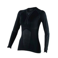 Dainese D-Core Dry Long Sleeve Ladies Tee Black/Anthracite