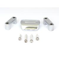 "Dakota Digital DAK-BKT-5001 Bracket Chrome for DAK-HLY-5000X/DAK-HLY-6000/DAK-MCV Series Gauges to 1"" Diameter T-Bars"
