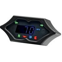 "Dakota Digital DAK-MCL-5200-K 4-1/4"" x 2"" Spike KPH Speedometer Black"