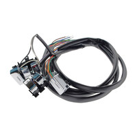 """Daytona Parts Co DAY-85061 48"""" Handlebar Wiring Harness Chrome Switches for Big Twin/Sportster 82-95"""