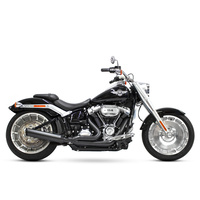 D&D Exhaust DD639Z-31F Lowcat 2:1 Exhaust Softail'18up M8