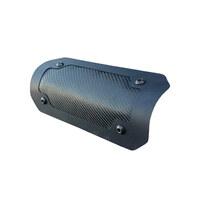 """Design Engineering Inc DEI-902462 Flexible 4"""" x 8"""" Heat Shield (Gen III) Double Black Onyx"""