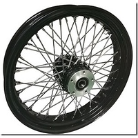 "DNA FRONT BCB 16 X 3.5"" W/S STEEL 60 SPOKE FLSTS SPRINGERS S/DISC 00-08 HARLEY"