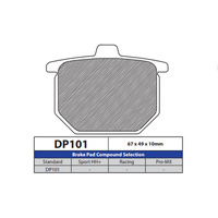 DP Brake Pads DP101 Sintered Brake Pads