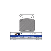 DP Brake Pads DP107 Sintered Brake Pads