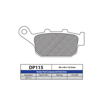 DP Brake Pads DP115 Sintered Brake Pads