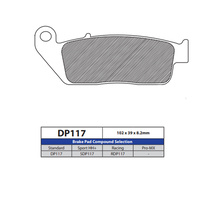 DP Brake Pads DP117 Sintered Brake Pads