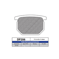 DP Brake Pads DP206 Sintered Brake Pads