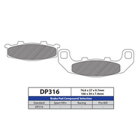 DP Brake Pads DP316 Sintered Brake Pads