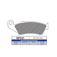 DP Brake Pads DP321 Sintered Brake Pads